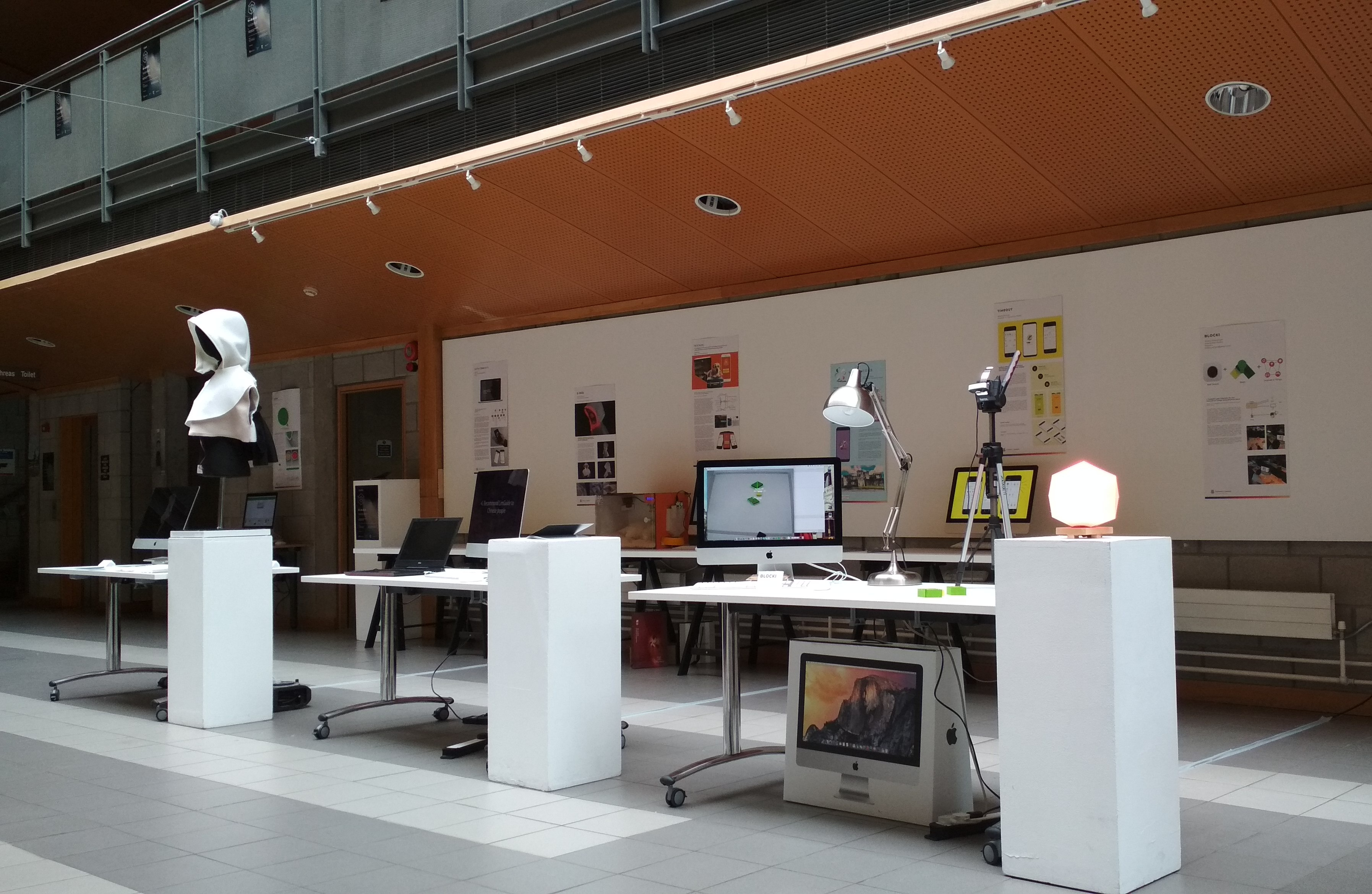 Digital Art Week Now - exhibition of students final projects